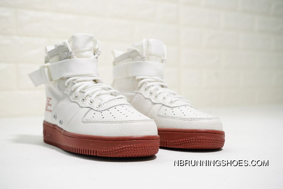 new styles 01dad 20ea1 Nike SF Air Force 1 Mid 917753-100 Ivory Mars Stone Mens Skateboard Shoes  Best