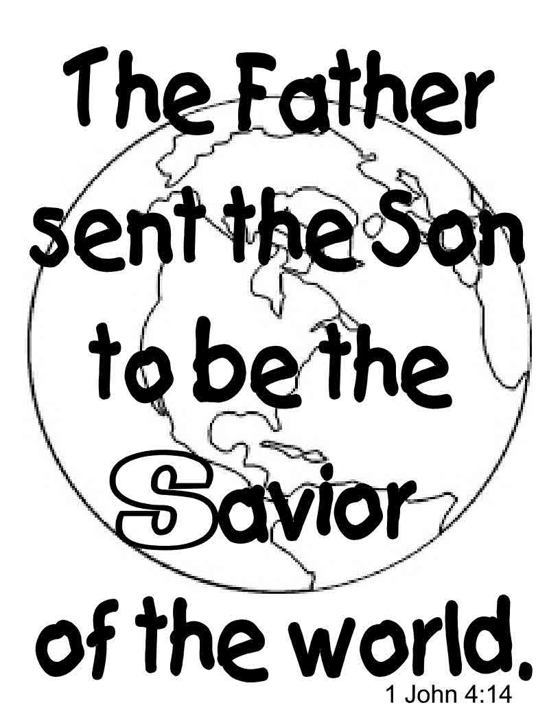 s is for savior worksheet from twistynoodle com awana
