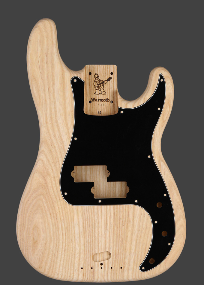 Warmoth Custom Guitar Products - Short Scale P-Style Replacement Bass Body #customguitars