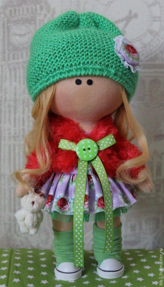Купить Малышка АСЯ - комбинированный, куколка на счастье, куколка ручной работы, куколка в подарок, куколка