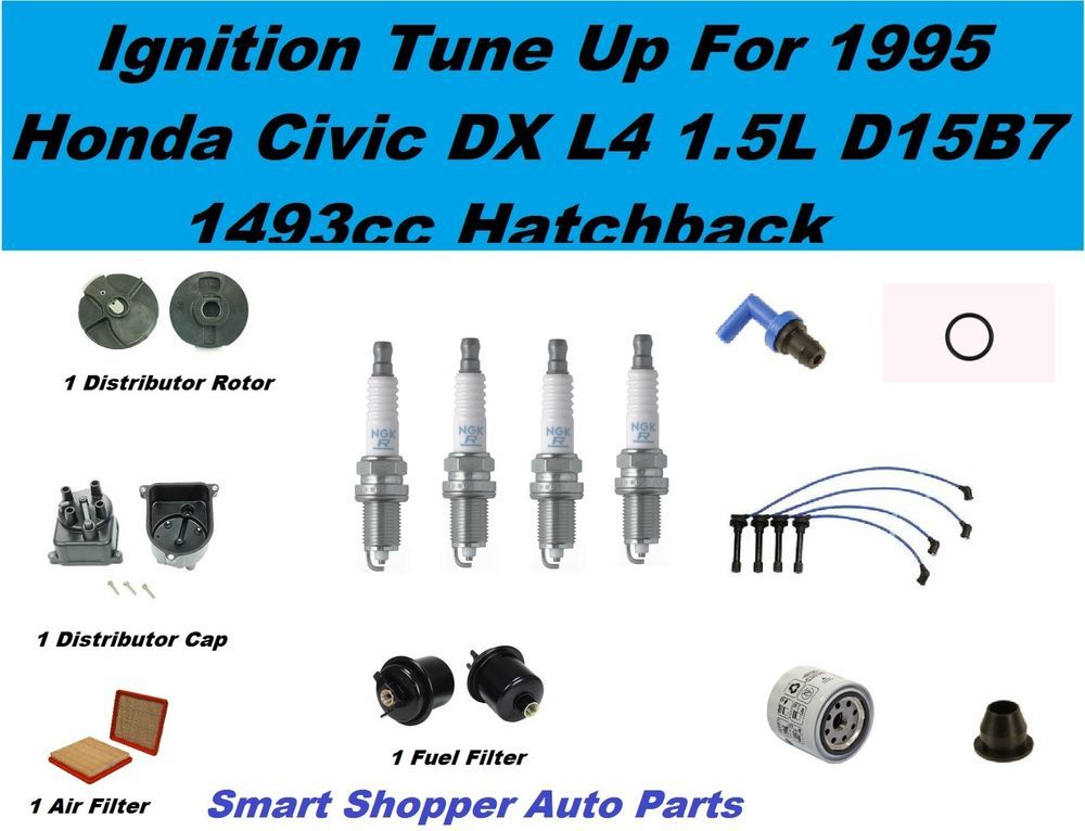 303409a1c688e59452c6226ba6a31c44 tune up kit 92 93 honda civic vx spark plug wire set, oil air fuel d15b7 spark plug wire diagram at gsmx.co