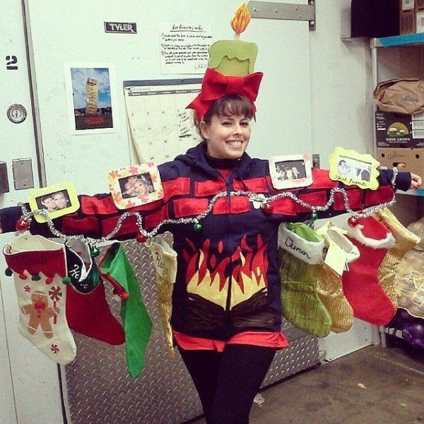 Ugly Christmas Sweater Craft Ideas Part - 25: 10 Brilliant DIY Ideas For Your Ugly Christmas Sweater
