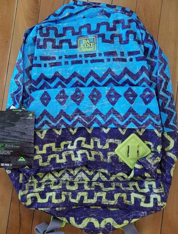 DAKINE Hawaii Tribe Backpack $44.95-NWT | Hawaii