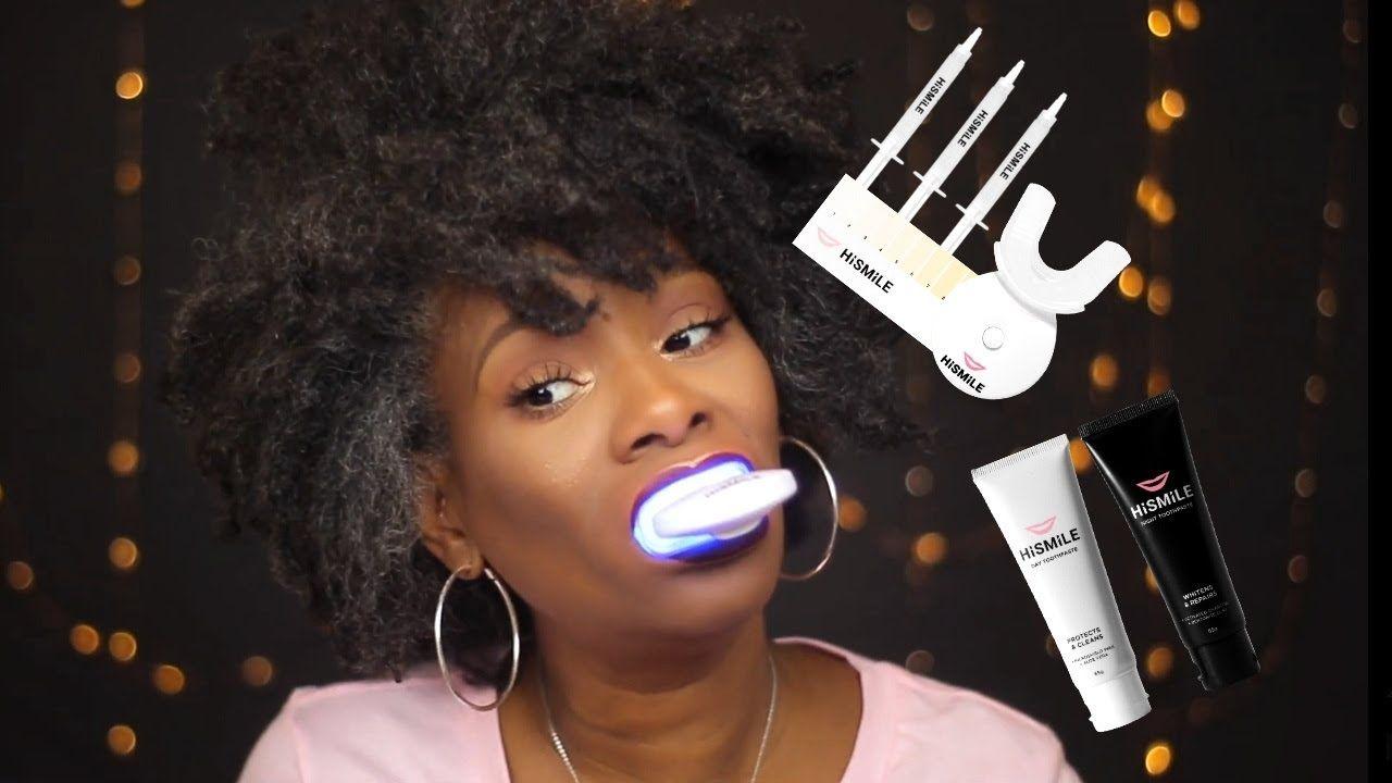 HiSmile Teeth Whitening Kit #hismile #teethwhitening  #beautyover40 #mat...