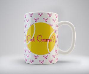 Got Game? Tennis Mug