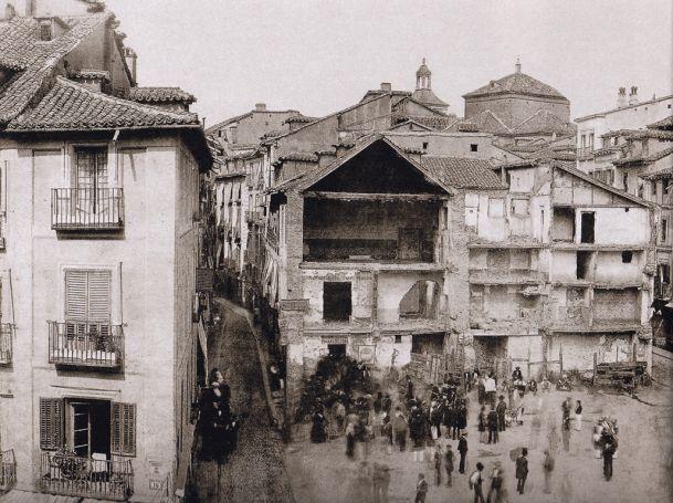 Puerta del sol 1857 recuerdos de madrid pinterest for Puerta del sol ahora