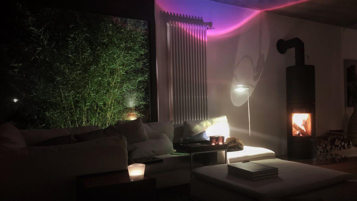 Bambuslicht im Querformat... | Kücheninsel, Da sein und Sofa