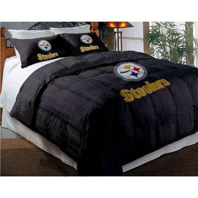 Pittsburgh Steelers Comforter Set Twin With Shams Thisnext