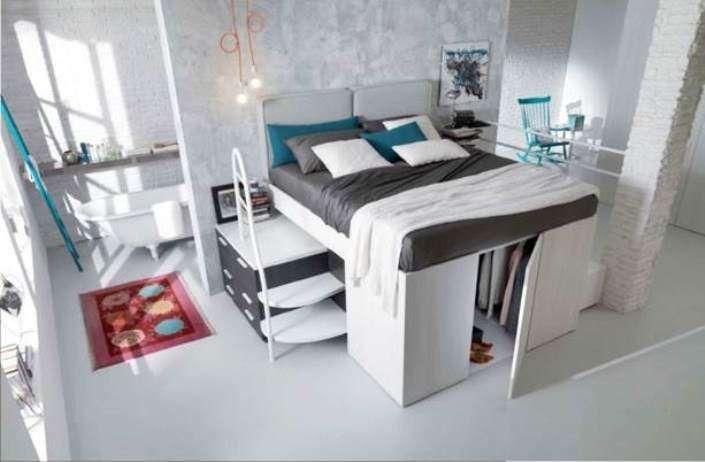 Camerette Fabbrica ~ Letti matrimoniali a soppalco lofts