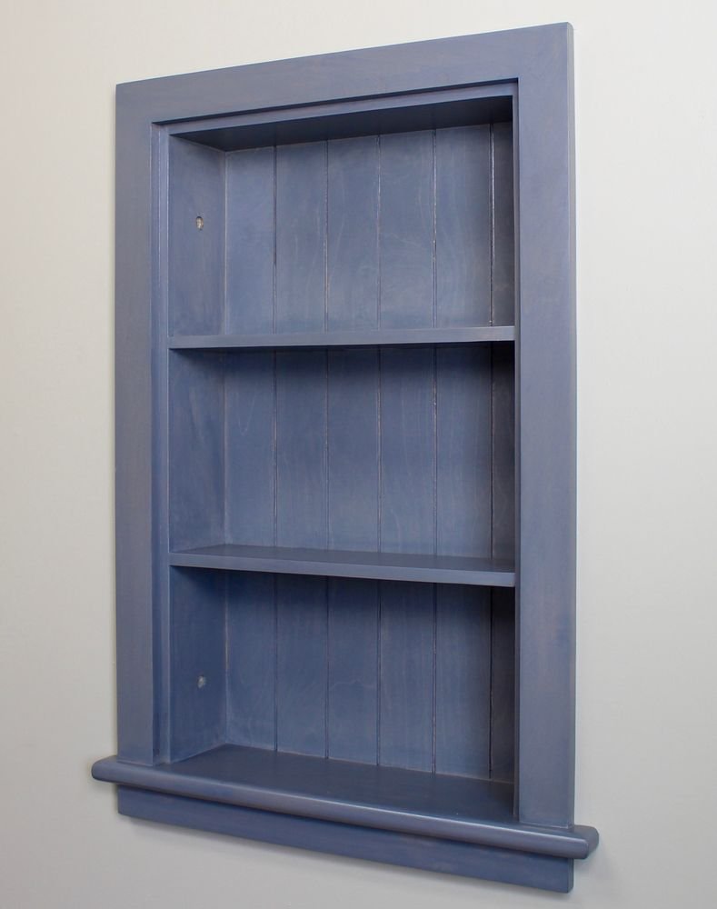 Best Extra Large Gray Recessed Wall Niche By Fox Hollow 400 x 300