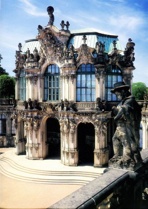 Late Baroque Palace Complex Built From 1709 To 1722 In Dresden Architecture Artists Beautiful Architecture Amazing Architecture