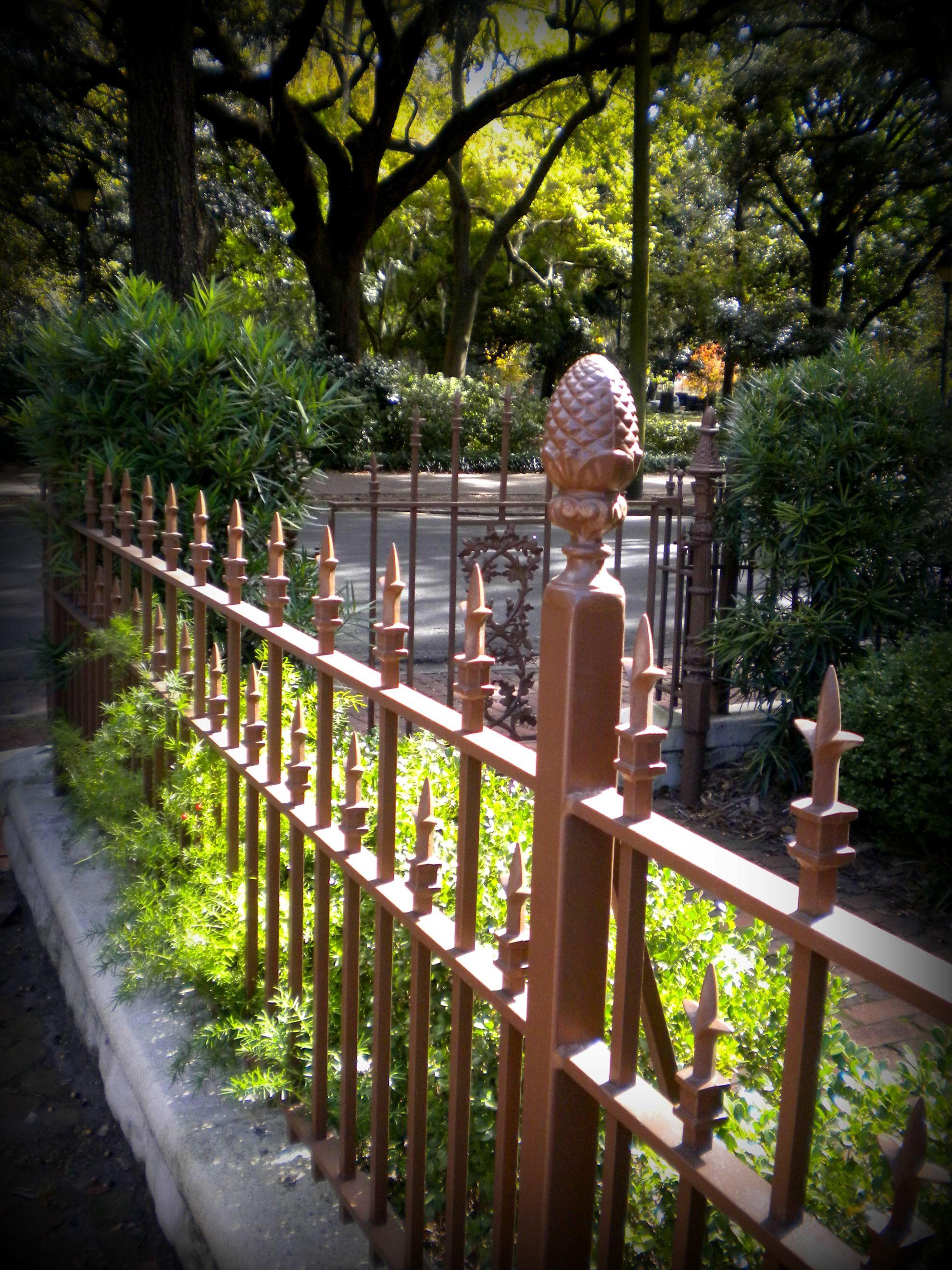 Brilliant And Beautiful Savannah Ga Savannah Chat Iron Gate Estate Gates