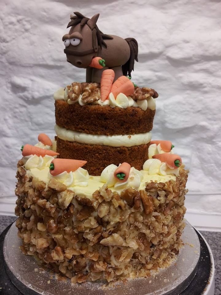 Carrot Cake (With images) Novelty cakes, Cake, Carrot cake