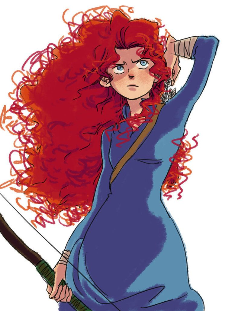 Merida by Maseiya on DeviantArt