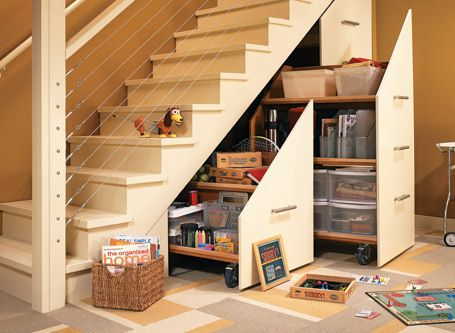 Reclaim Lots Of Under Stair Storage With This Step By Step Plan