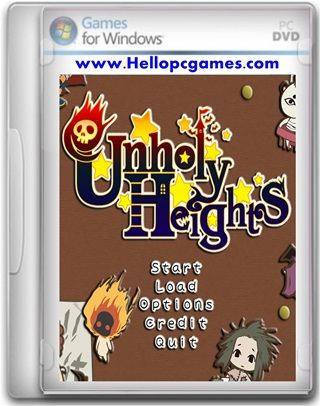 Unholy Heights Game Free Download Full Version For PC