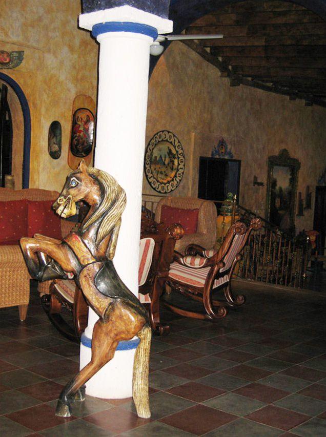 Sierra Tarahumara: El Fuerte, l'hotel omonimo.