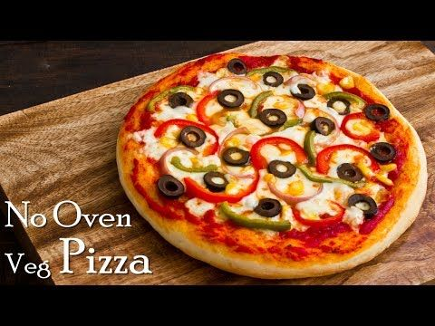 Pizza Without Oven Veg Pizza Pizza In Kadhai Homemade Pizza