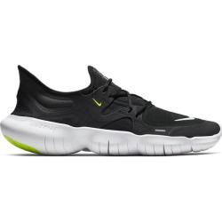 Photo of Nike men's running shoes Free Rn 5.0, size 44 ½ in black / white-anthracite-volt, size 44 ½ in black / w