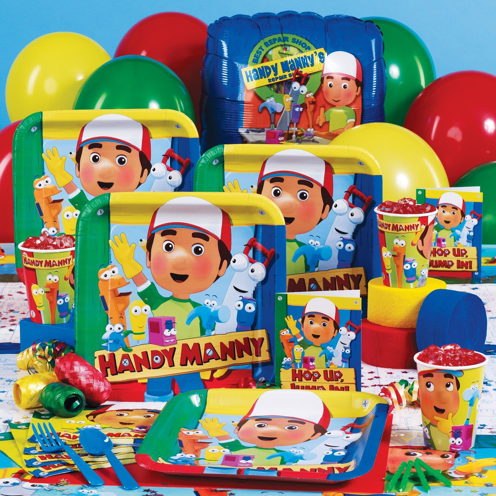 17 Best images about Handy Manny Tools Party – Handy Manny Party Invitations