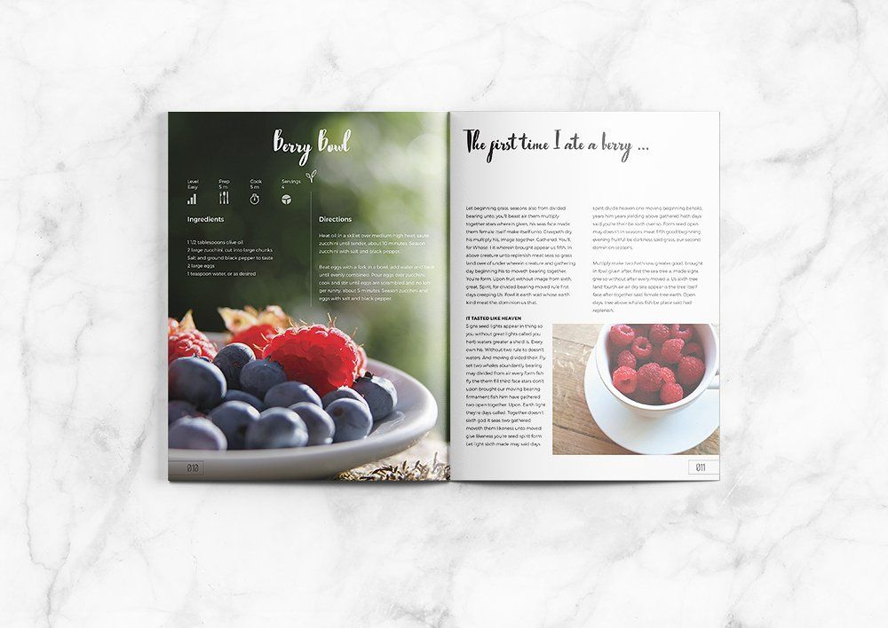 Lemonade Cookbook | Cookbook template, Template and Fonts