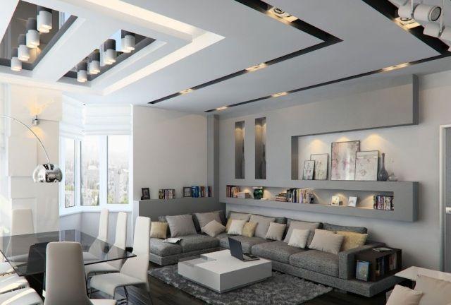 moderne woonkamer inspiratie wit grijs project woonkamer
