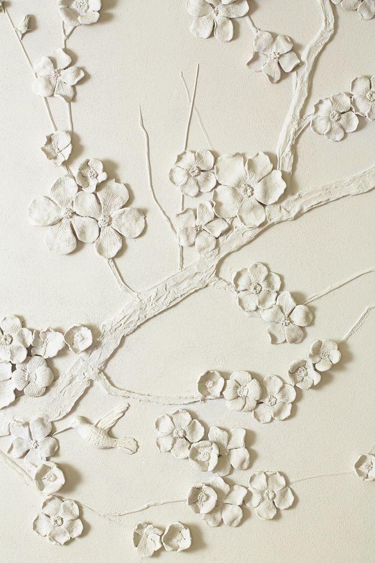 Interior wallpaper texture - 50 Floral Wallpaper And Mural Ideas Interior Design Architecture Magazine