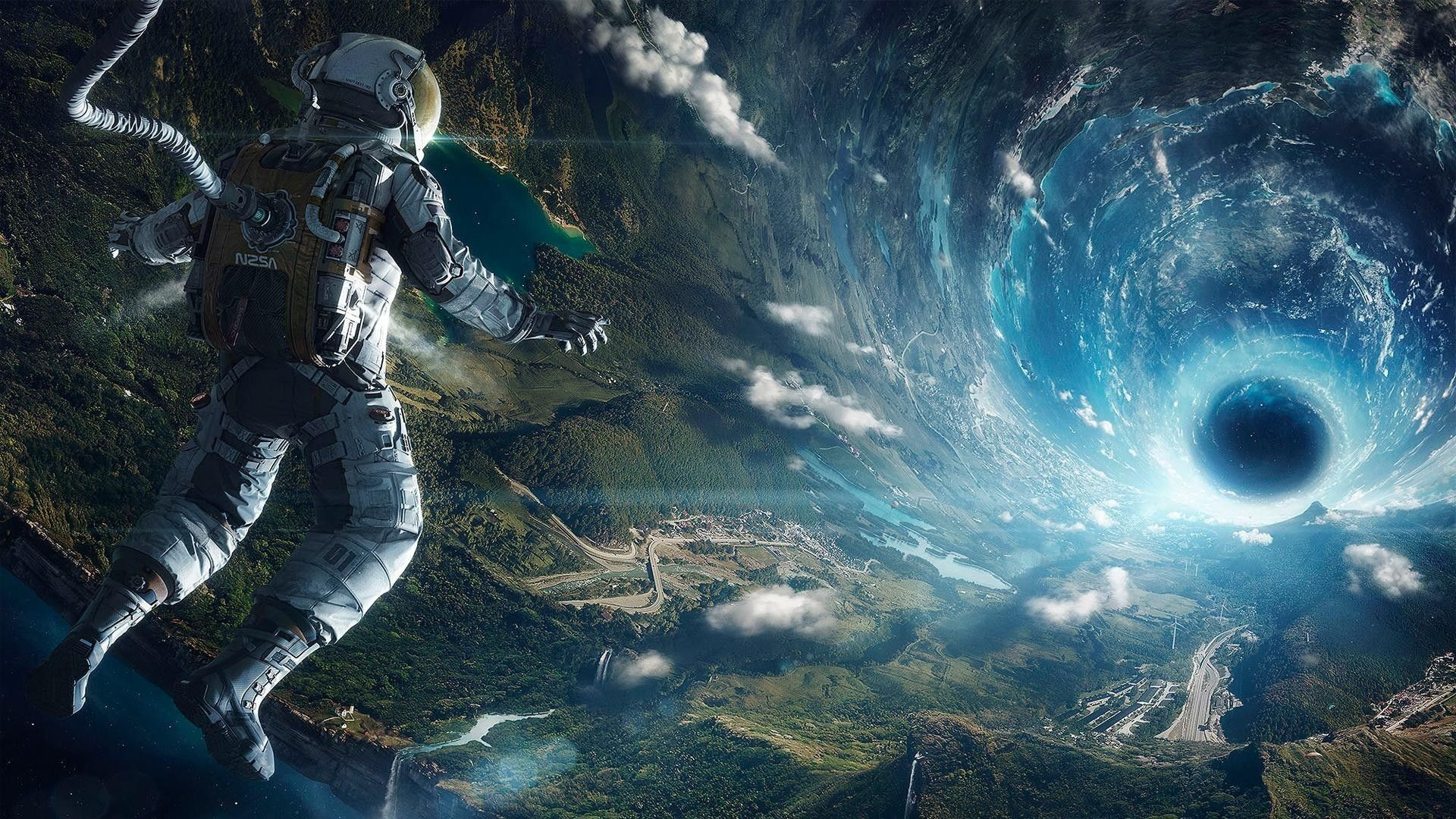 Black Hole Wallpaper Space Wallpapers Space Illustration