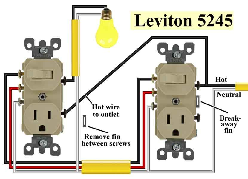 Waterheatertimer Org Images Leviton 5245 2 600 Jpg Wire Switch Electrical Wiring Home Electrical Wiring