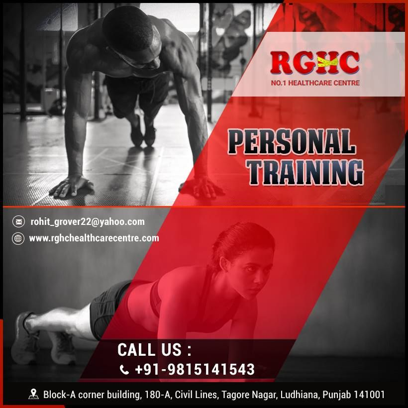 Personal Training at RGHC | Health care, Fun workouts ...