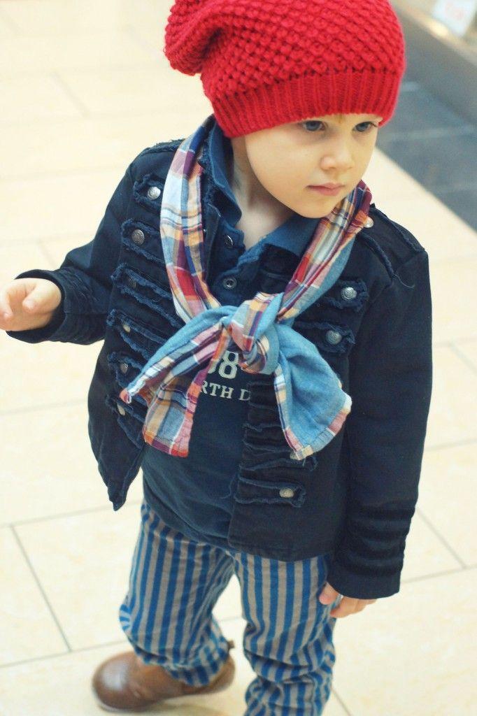 i love red for little boys!