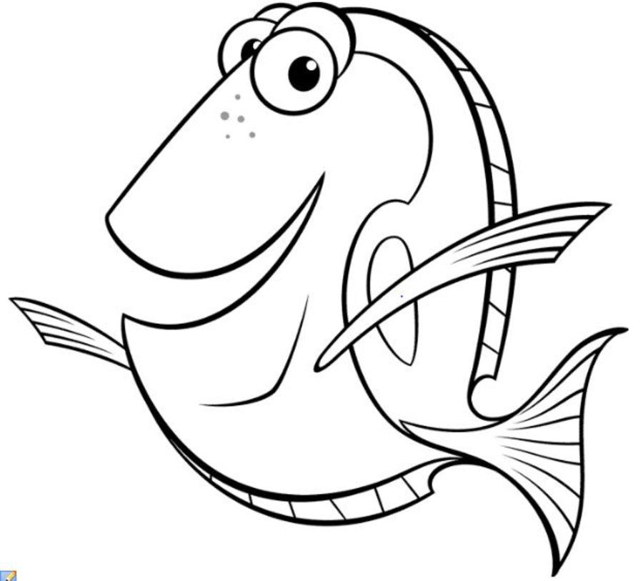 Finding Dory Coloring Pages New Azw Descargar Coloring