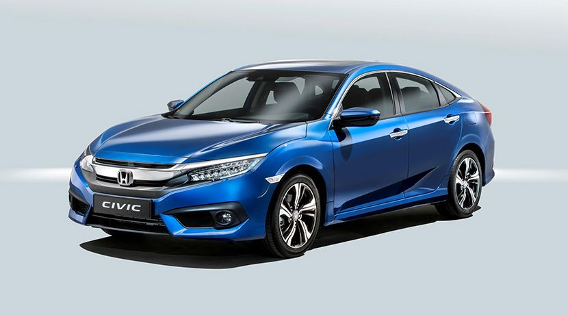 El Honda Civic Estara Disponible Con Motor Diesel A Partir De Marzo Honda Civic Honda Civic Sedan Motor Diesel