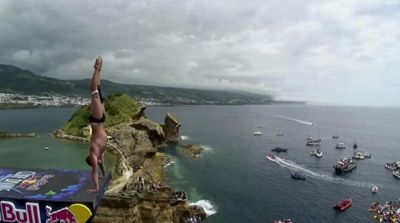 2012 Cliff Diving World Series - Vila Franca do Campo, Azores, Portugal