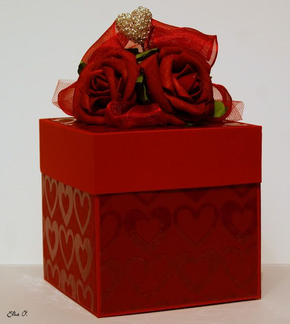 Valentine S Day Exploding Box Made To Order Exploding Box