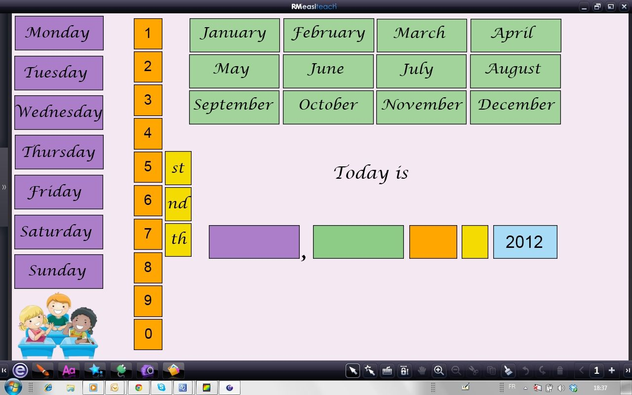 Ecrire La Date En Anglais Date Anglais Apprendre L Anglais Jeux Anglais