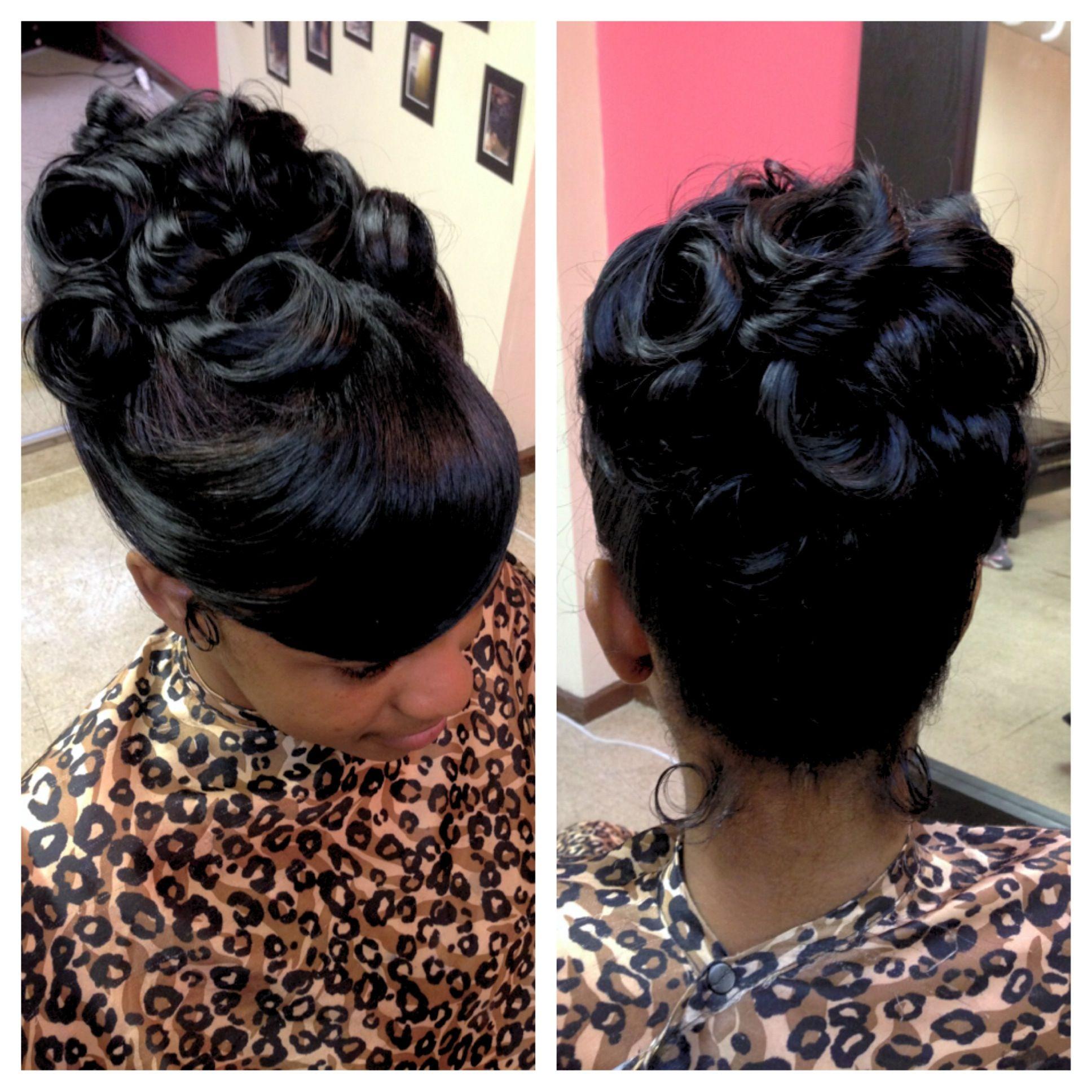 Up Do Bun With Curls Fabulous 3 Gamfactoryhairsalon Releaseyourinnerglam Glam Masterstylistnicky Prom Hairstyles Hair Styles Diy Hair Bun Prom Hair