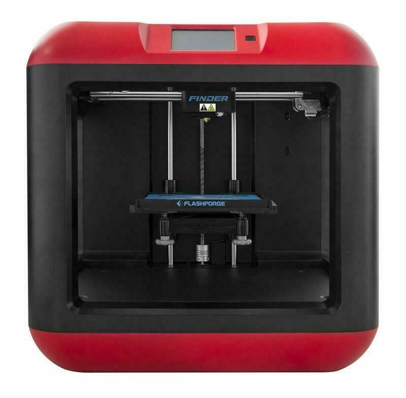 FlashForge Finder 3D Printer with PLA Filament customer returned