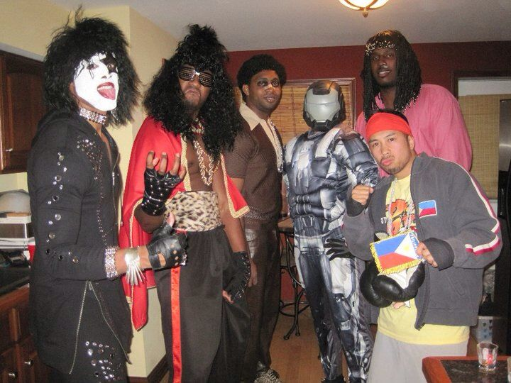 Imaginative Halloween costumes L to R (Paul Stanley from Kiss Sho nuff from 80u0027s  sc 1 st  Pinterest & Imaginative Halloween costumes L to R (Paul Stanley from Kiss Sho ...