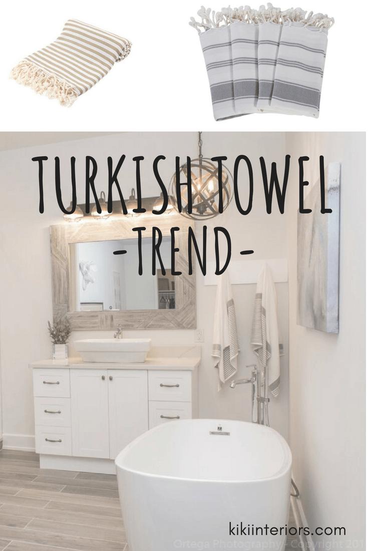 The Turkish Towel Trend | **Bloggers on Pinterest** | Pinterest