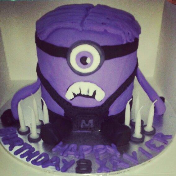 Happy birthday Xavier purpleminion crazyminion somuchfun