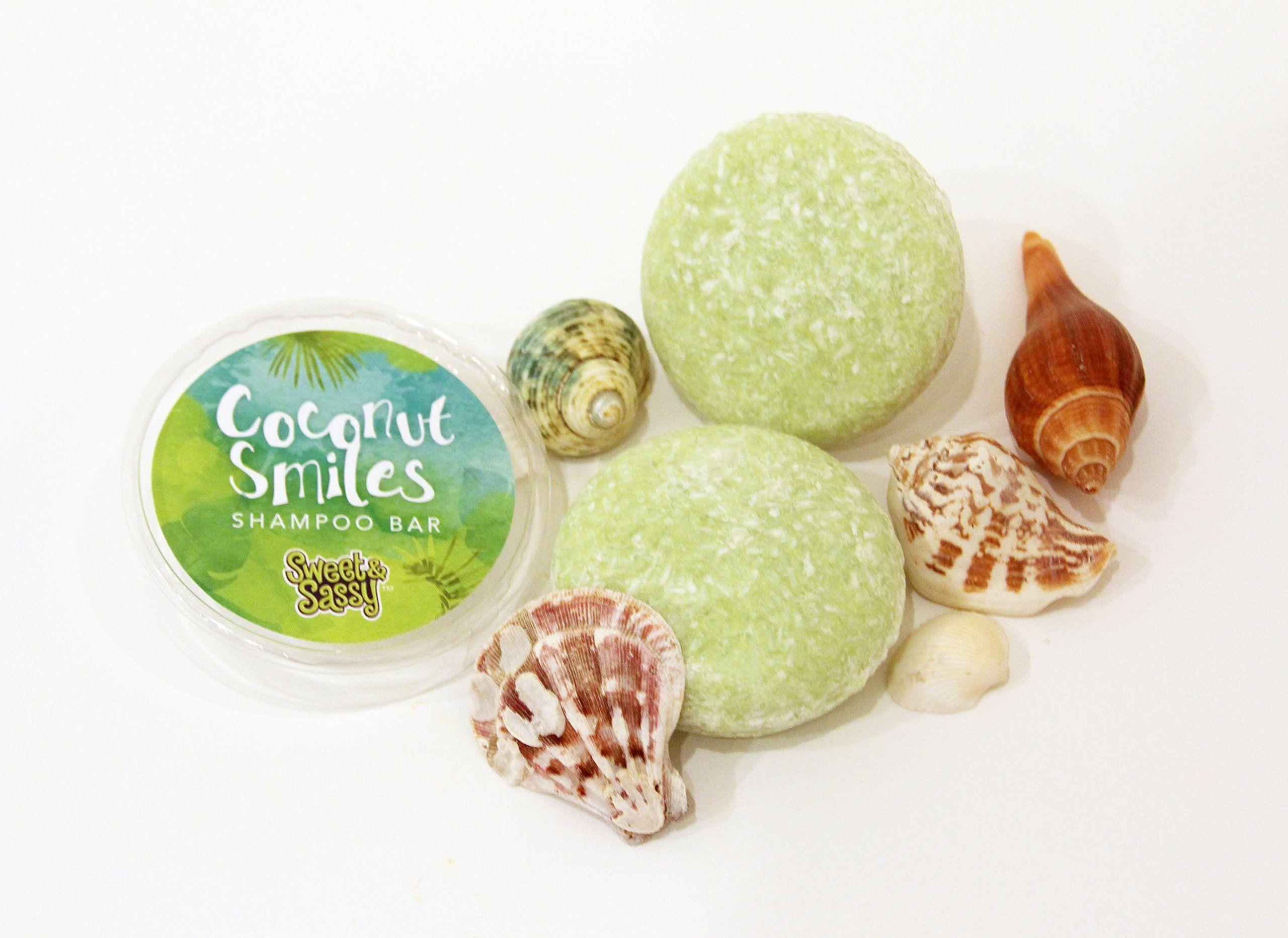Coconut Lime Shampoo Bars Includes 2 Shampoo Bars Refill