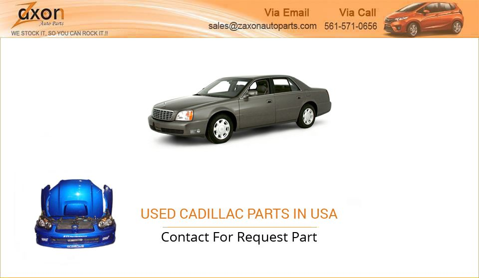 Looking for Genuine Cadillac Part in USA? Zaxon auto parts ...