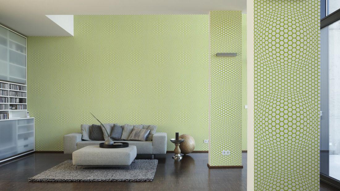 Lars Contzen Tapete 255327; simuliert auf der Wand Schönes für - schöne tapeten fürs wohnzimmer