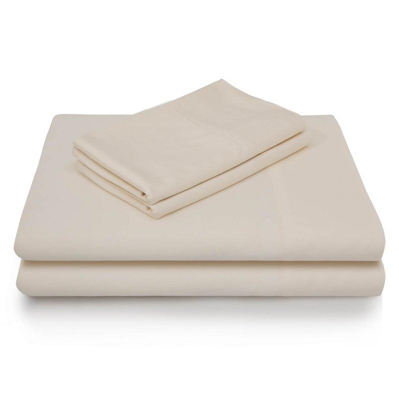 Ivory Rayon From Bamboo King Size Sheet Set Sheet Sets Bed