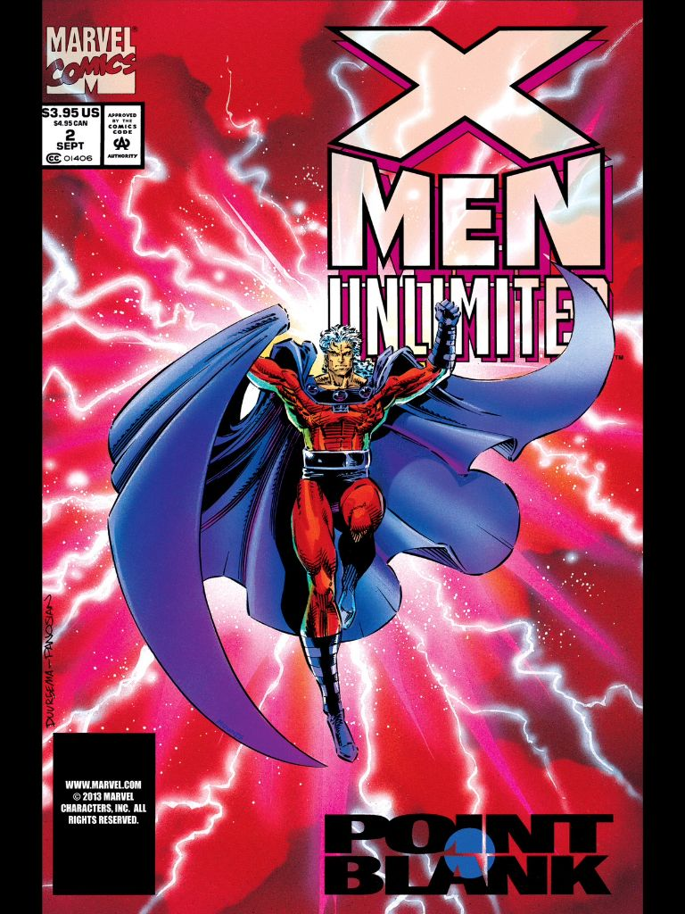 X Men Unlimited 1 Magneto Origin Graphic Novel Cover Marvel Comic Books Best Comic Books