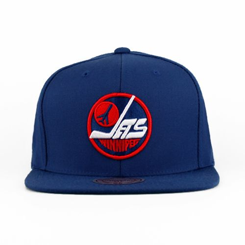 Winnipeg Jets The Solid Snapback (Green Under)  511d7d1e7002