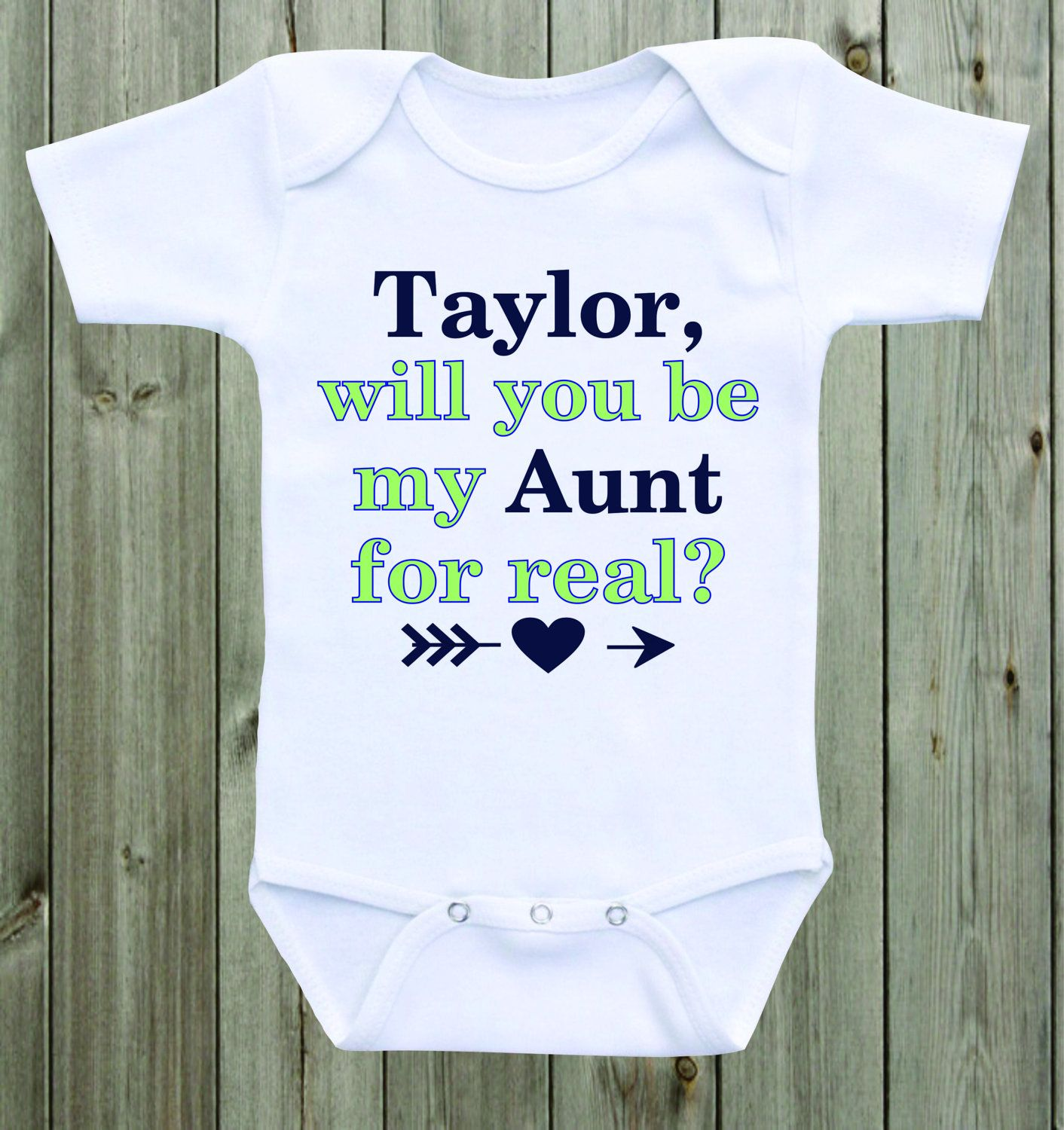 Will you be my aunt marriage proposal baby onesie custom onesie will you be my aunt marriage proposal baby onesie custom onesie wedding proposal ideas engagement baby negle Image collections