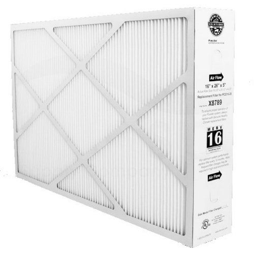 Lennox Corporation X8789 Merv 16 Pleated Filter 16x26x5 Lennox Corporation X8789 Merv 16 Pleated Filter 16x26x5 Lennox Co Merv Furnace Filters Solar Attic Fan