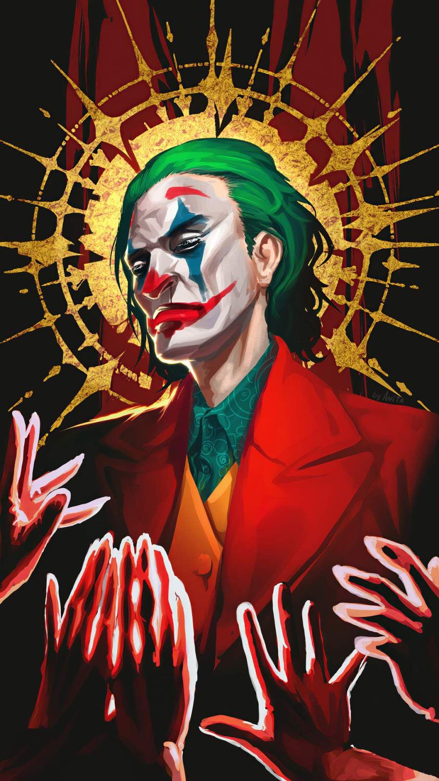 Iphone Wallpapers For Iphone 8 Iphone 8 Plus Iphone 6s Iphone 6s Plus Iphone X And Ipod Touch High Quality Wallpape Joker Art Joker Wallpapers Joker Poster Ideas for iphone 6 joker wallpaper 4k